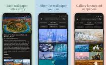 微软最新的安卓应用程序Bing Wallpapers具有10年的图像价值