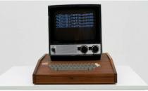 一台手工打造的原始苹果1电脑仅售150万美元