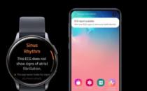 三星Galaxy Watch Active2在韩国获得ECG认证